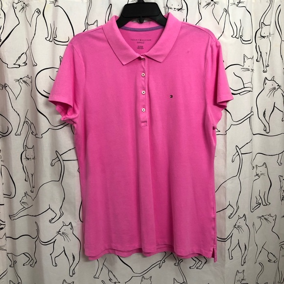 667467a7 Tommy Hilfiger Tops | Womens Classic Fit Polo | Poshmark